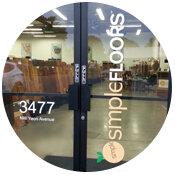 Simple Floors Portland flooring showroom