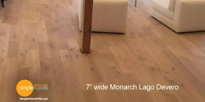 wide plank Monarch Lago Devero wood floors