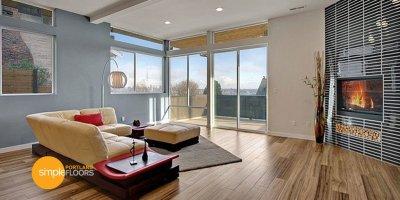 Natural Walnut engineered hardwood floors
