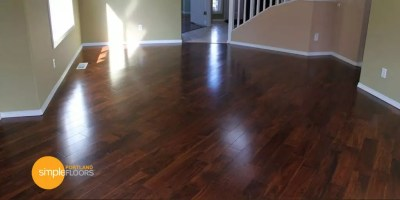 arpeggio Hardwood Floor Living Room