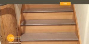 Hardwood floors instead of carpet on stairs