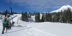 Go snow boarding or snow skiing from Portland PDX
