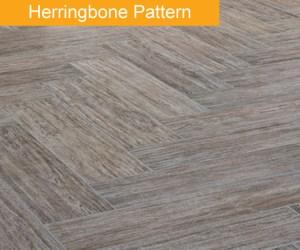 Herringbone Tile Pattern Bathroom trend