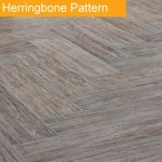 Herringbone Tile Pattern - Bathroom trend