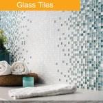 Glass Tiles - bathroom trends