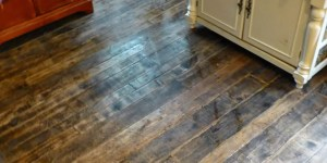 wood flooring made from pallets