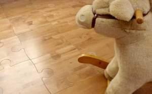 unique puzzle hardwood flooring