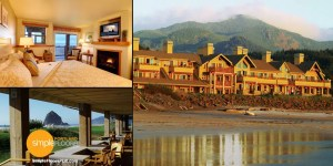 The Ocean Lodge is close to Portland and makes a unique getaway hotel destination