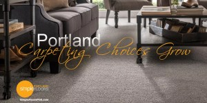 More options for carpet in Portland