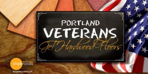 Portland Vets honored with new wood flooring