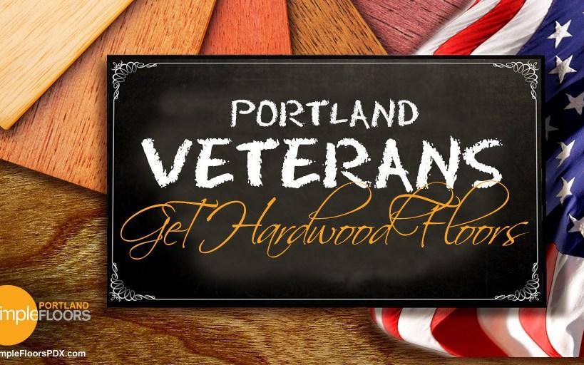 Portland Veterans Get Hardwood Floors