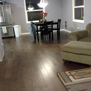 Portland Wood Floor Living Room
