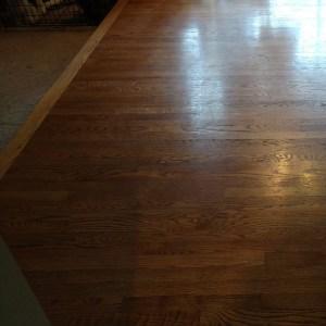 Portland Wood Floor Project Before
