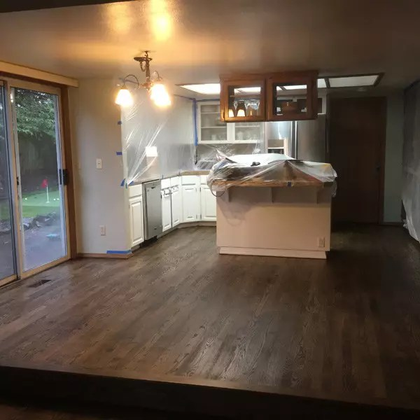 Portland Wood Floor Project Beaverton kitchen