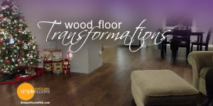PDX wood floor before and after