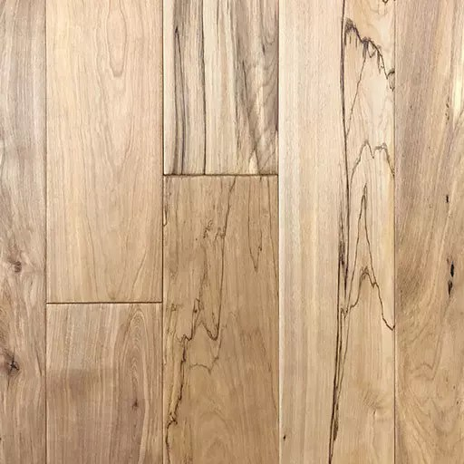Natural Birch Handscraped Solid Hardwood Floor
