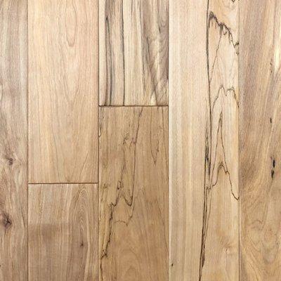 Natural Birch Handscraped Solid Hardwood Floor