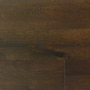 Olive Brown Handscraped French White Oak Engineered Flooring