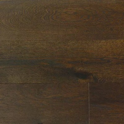 Olive Brown Handscraped French White Oak Engineered Flooring