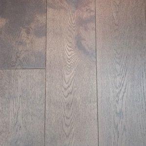 Olive Brown Handscraped French White Oak Engineered Wood Floor