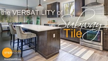 Subway Tile is extremely versatile and it's history is is interesting
