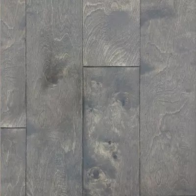 grey fox handscraped birch engineered wood flooring