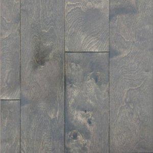 grey fox handscraped birch engineered wood flooring