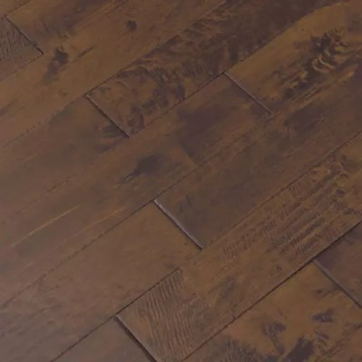 sienna handscraped maple solid wood flooring