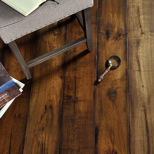 Vintage Maple wood floors by Johnson Hardwood