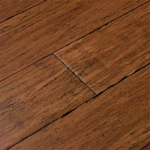 Antique Java Fossilized® Handscraped Bamboo Wood Floor – Click
