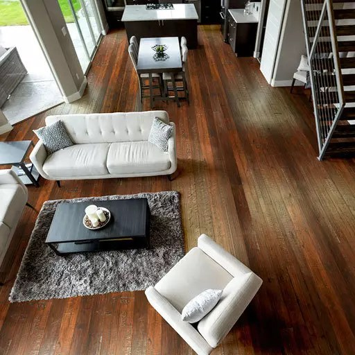 English Pub – Smoked Bourbon Engineered Maple Wood Floor