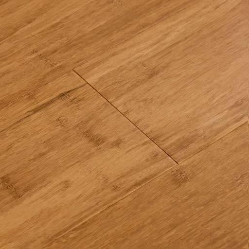 Mocha Fossilized Handscraped Bamboo Wood Floors