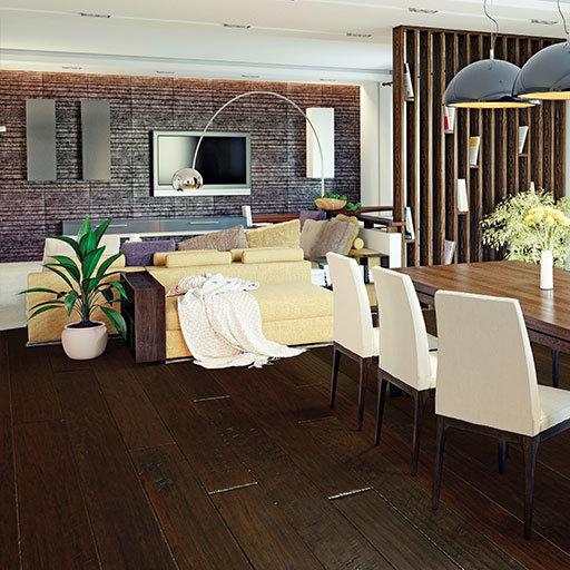 Pacific Coast – Antelope Hickory Engineered Wood Floors