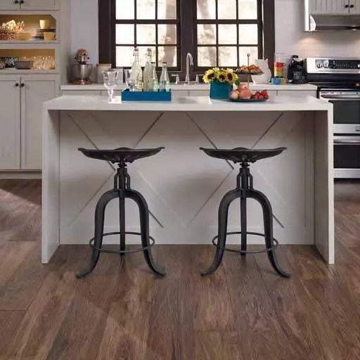 Laminate floors for the kitchen