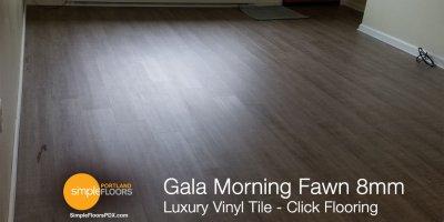 LVT Gala 8amm click flooring