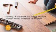 Portland Contractor Flooring