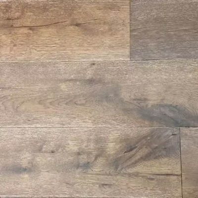 Carmel Oak Wire-Brushed Engineered Wood Flooring