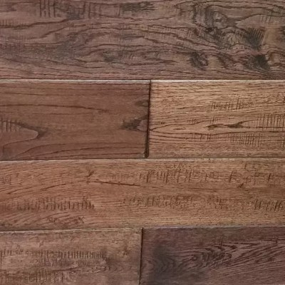 Western Dominion Solid Oak Handscraped Wood Flooring