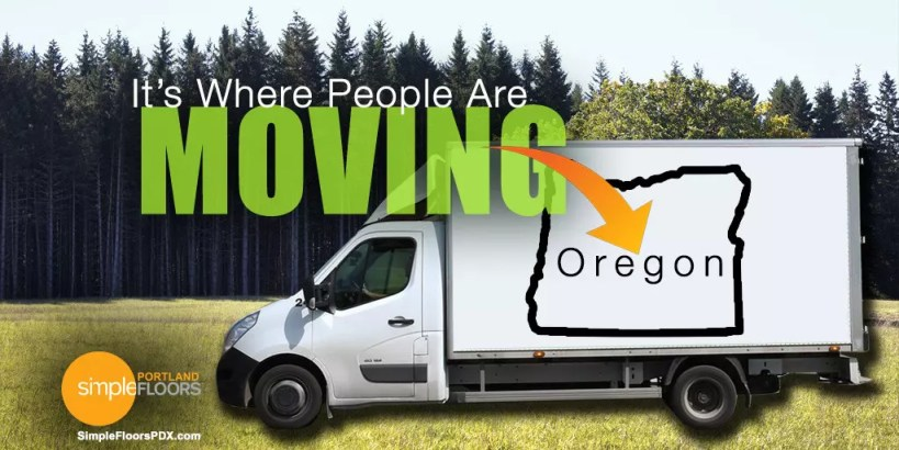 Oregon – It's Where People Are Moving