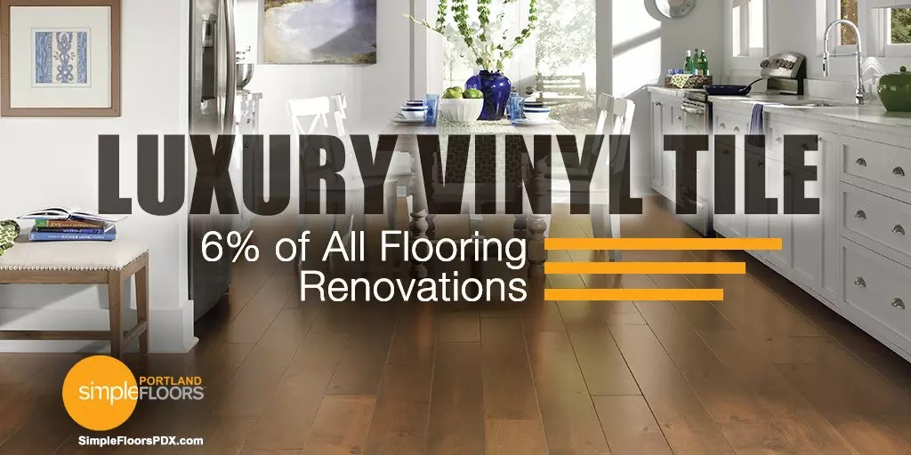 Luxury Vinyl Tile Now 6% Of All Flooring Renovations