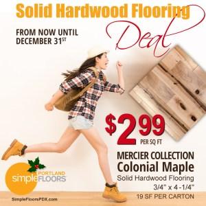 Holiday flooring deals