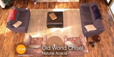 Natural Acacia wood flooring Portland