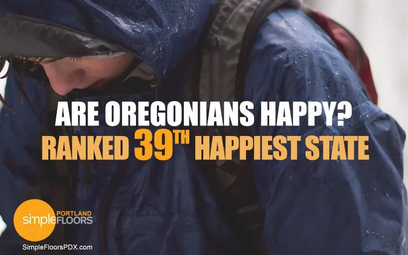 Are Oregonians Happy? Not So Much