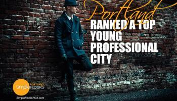 Young Professional Millennials pick Portland Oregon