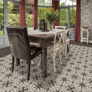 Graphic Pattern Tiles for The Dining Room