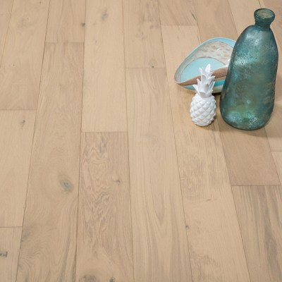 Naturally Aged White Mist Engineered Hardwood Floor - Oak