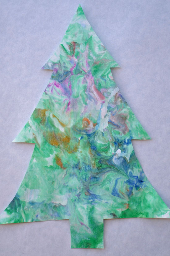 Christmas Crafts Made Construction Paper