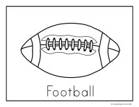 Football Coloring Pages - Simple Fun for Kids