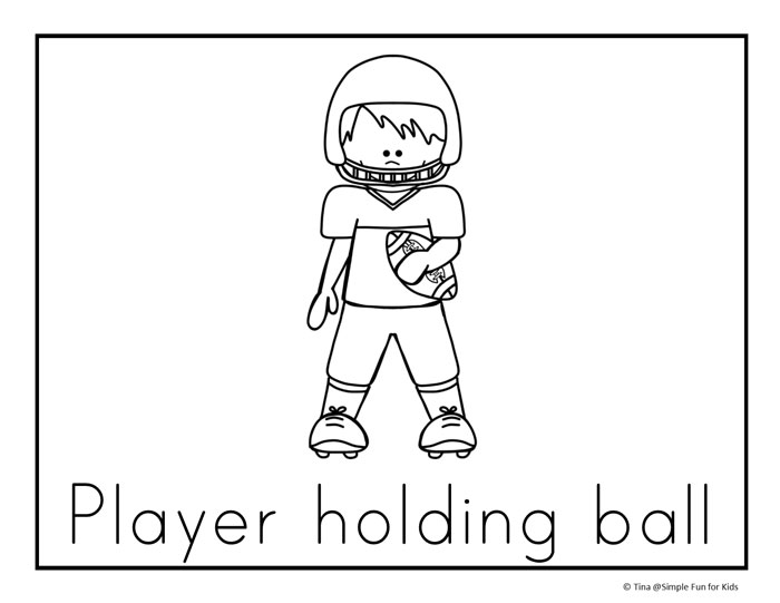 Football Coloring Pages Put Together Coloring Pages