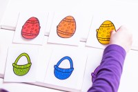 Rainbow Easter Egg Color Matching Game - Simple Fun for Kids
